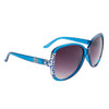 Large Lens Fashion Sunglasses DE5045 Blue