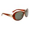 Wholesale Women's Polarized Fashion Sunglasses 8219 Brown
