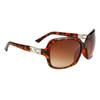 Diamond™ Eyewear Rhinestone Sunglasses Wholesale - Style # DI6005 Tortoise