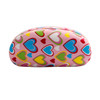 Sunglass Hard Cases Wholesale - AC4000 Pink with Pink Interior