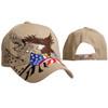 Patriotic Wholesale Cap C6011 - Beige