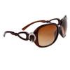 Women's Designer Sunglasses in Bulk - 8226 Brown