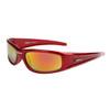 Xsportz™ Men's Sunglasses by the Dozen - Style #XS7002 Red/Gold