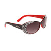 Designer Sunglasses by the Dozen - Style #DI149 Black & Red