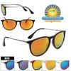 Wholesale Mirrored Sunglasses - Style #858