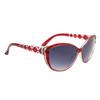 Diamond™ Eyewear Cat Eye Sunglasses with Rhinestones DI6013 Red