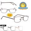 Bulk Metal Reading Glasses - R9101 Spring Hinges!
