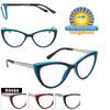 Retro Cat-Eye Reading Glasses - R9086