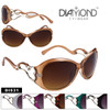 Diamond Eyewear Heart Frame Sunglasses DI531