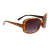 Wholesale Rhinestone Diamond™ Eyewear - DI521 Translucent Brown