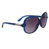 Rhinestone Sunglasses DI120 Blue Frame