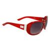 DE597 Women's Fashion Sunglasses Red Frame