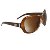 Designer Eyewear DE86 Wholesale Sunglasses Brown & Transparent Brown Frame