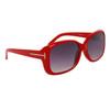Fashion Wholesale Sunglasses 24313 Red Frame Color