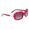 #22313 Fashion Sunglasses Magenta Frame Color