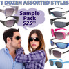 Adult Sample Pack Sunglasses SPA1
