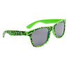 Animal Print California Classics Sunglasses 9014 Green