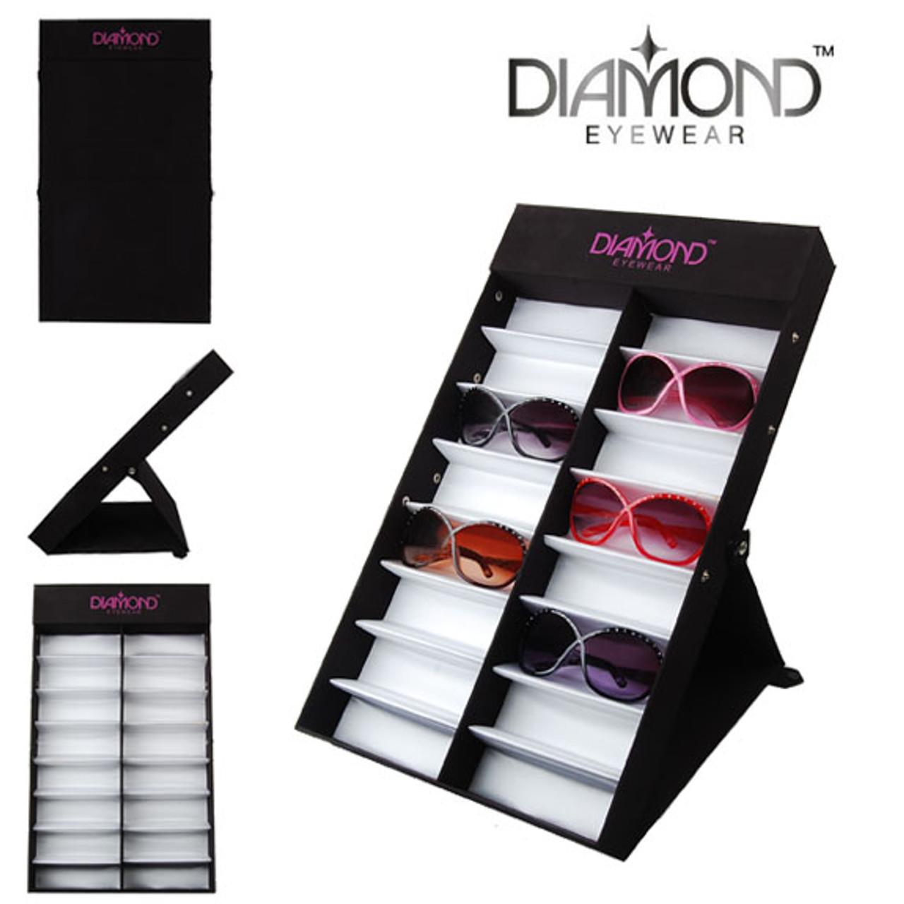 Diamond Eyewear Travel Display for Sunglasses