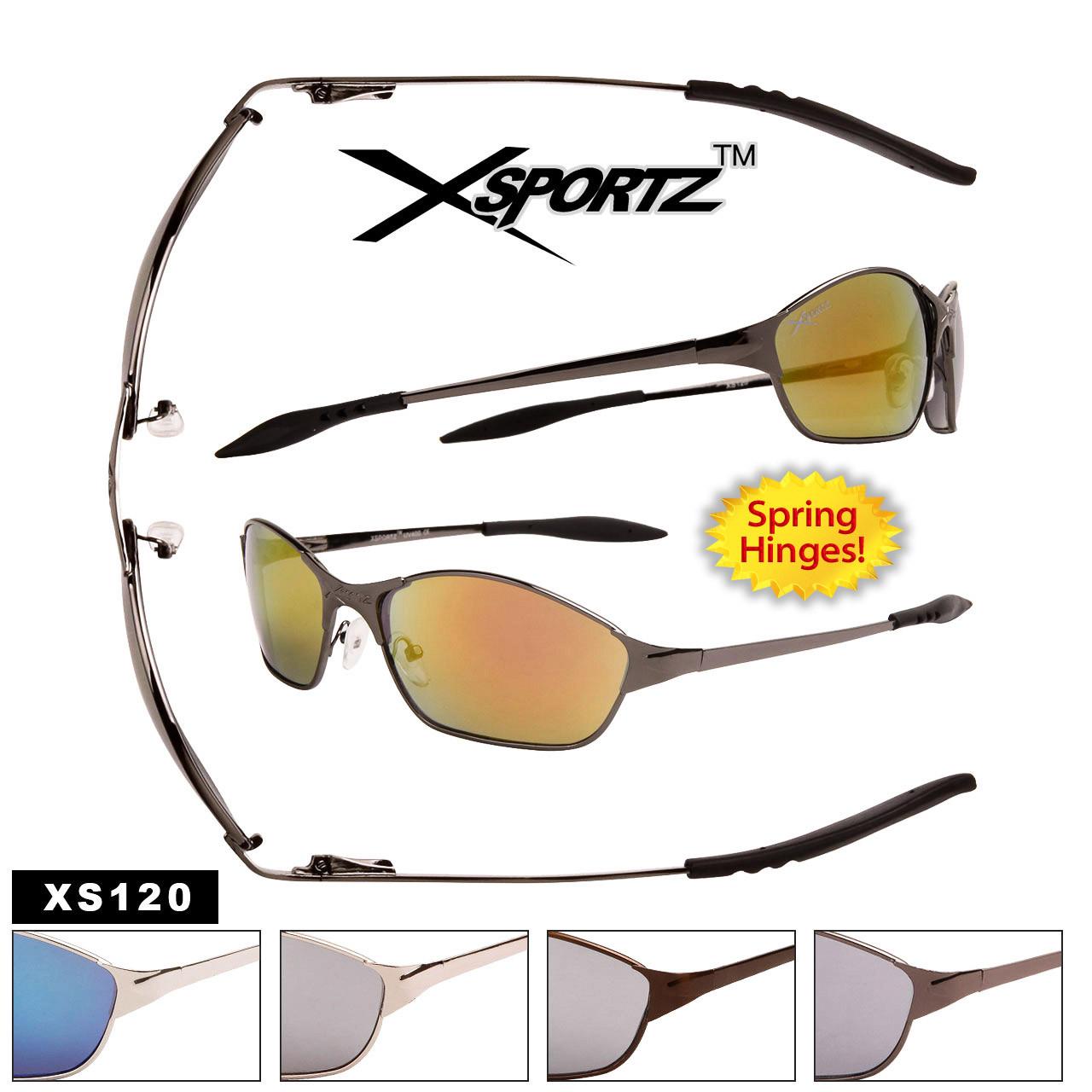Men's Sport Sunglasses Wholesale - Style #XS120 Spring Hinge
