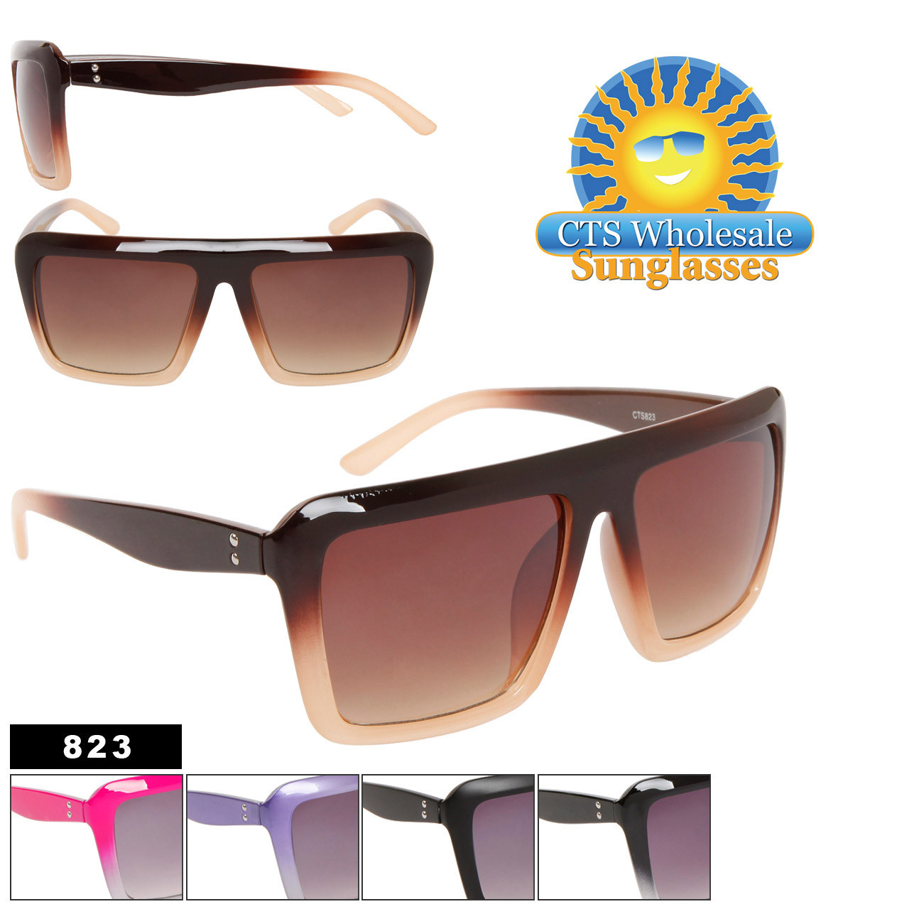 Square Lens Sunglasses! 823