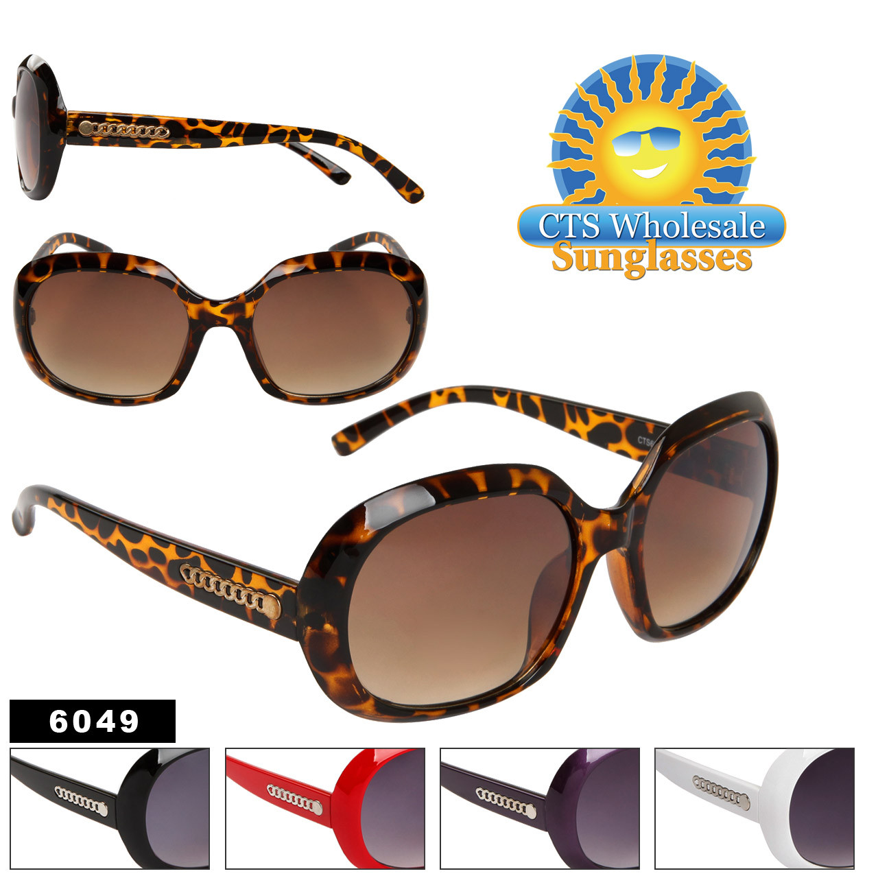 Fashion Sunglasses 6049