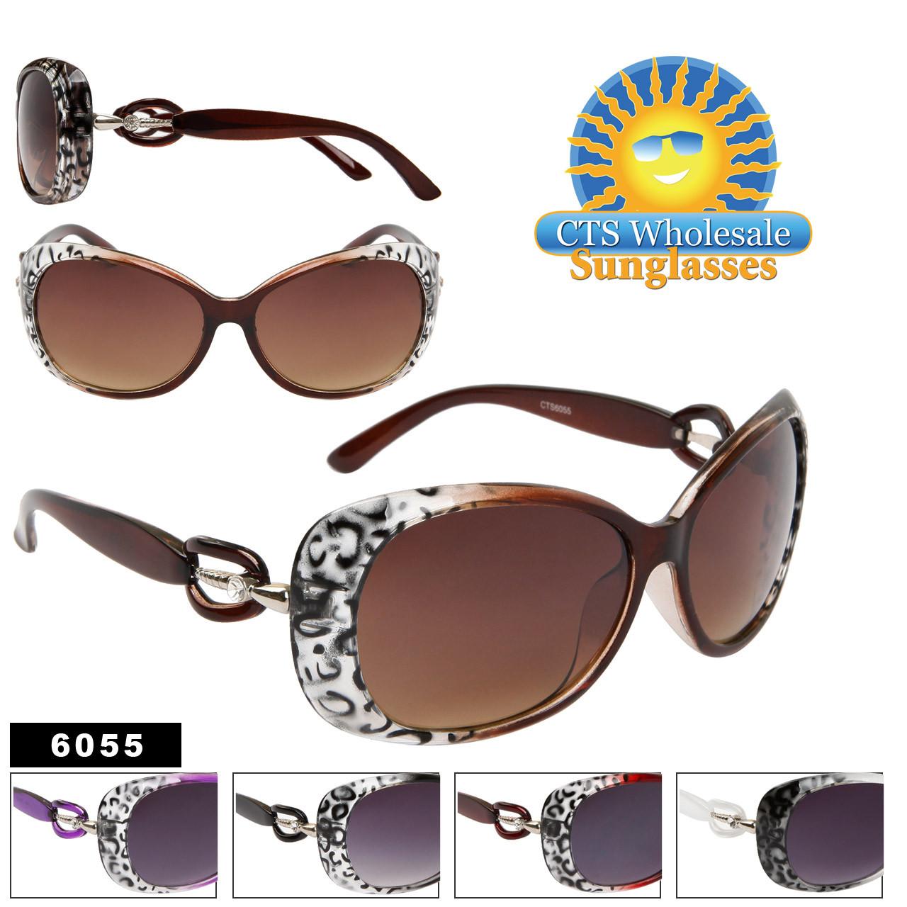 Rhinestone Sunglasses Wholesale 6055