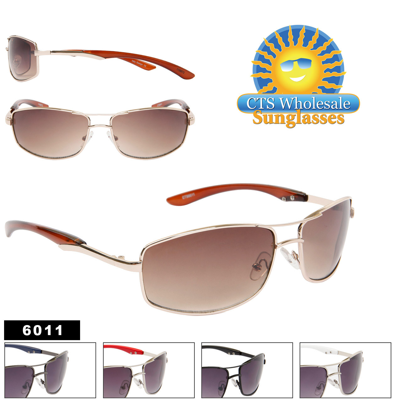 Unisex Sunglasses 6011