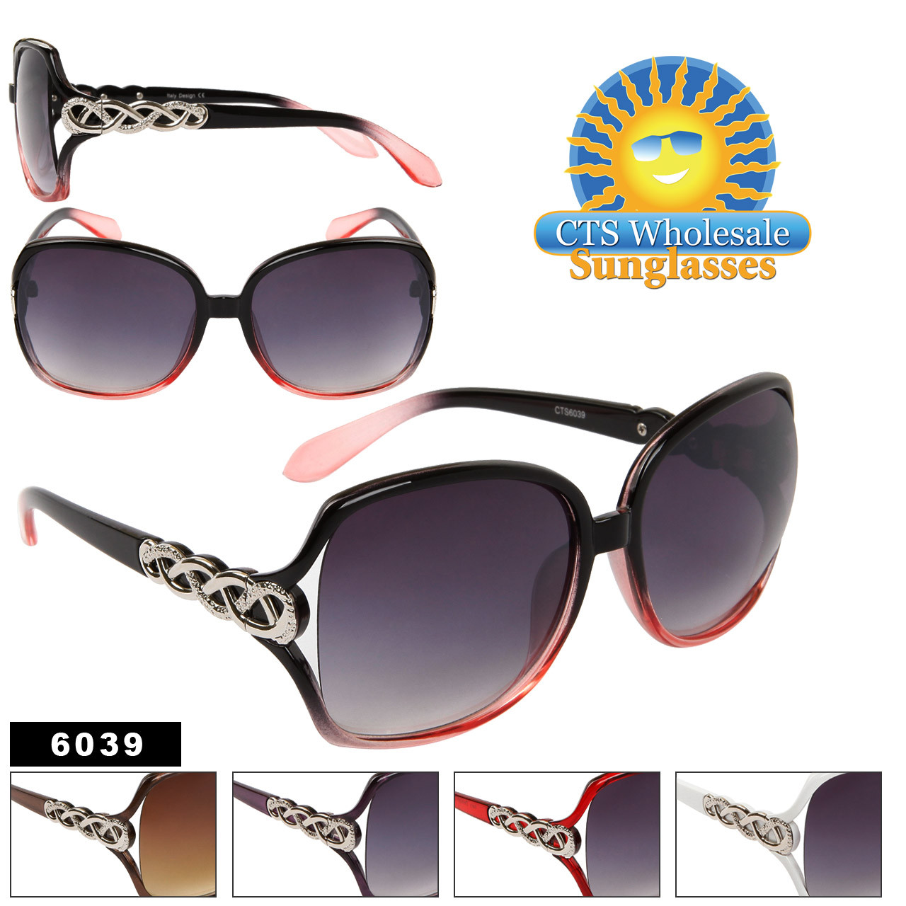 Vintage Fashion Sunglasses 6039