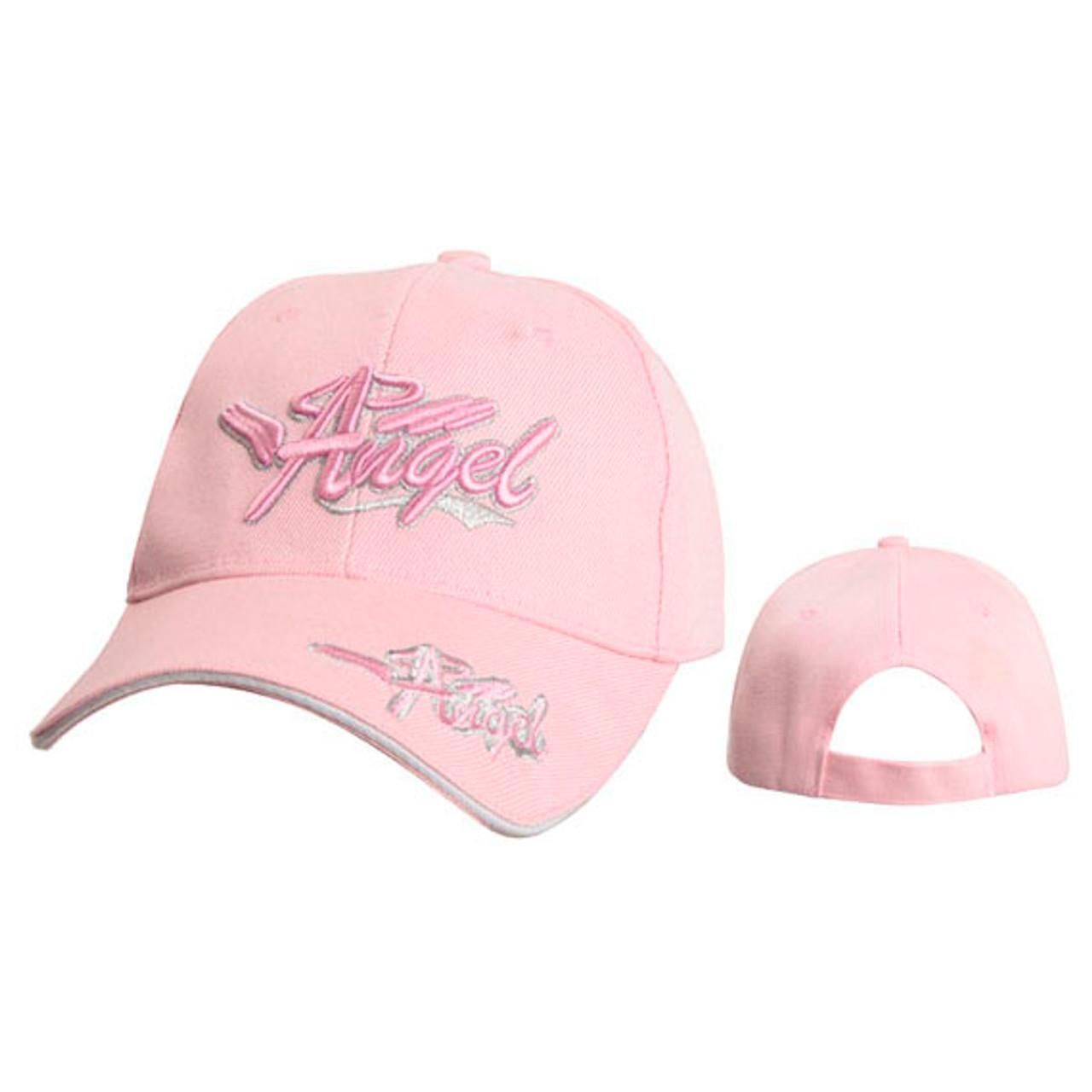 "Pink ""Angel"" Wholesale Caps C5220A"
