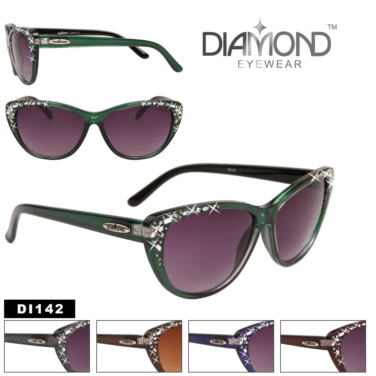 Wholesale Cat Eye Sunglasses - Style # DI142