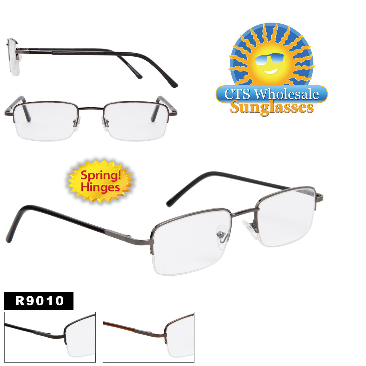 Spring Hinge Reading Glasses R9010