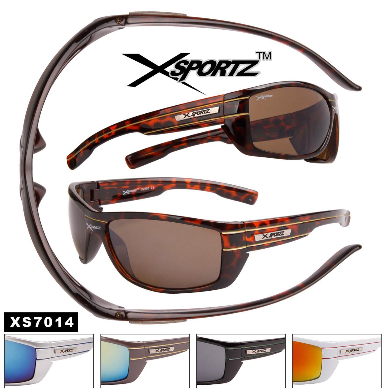 Xsportz™Wholesale Sports Sunglasses - Style #XS7014