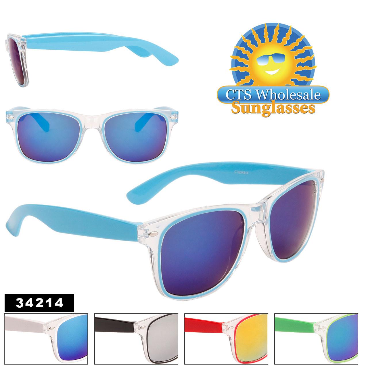 Mirrored California Classics Sunglasses Wholesale - Style #34214