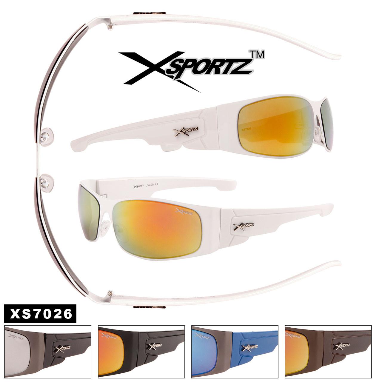 Bulk Metal Sport Sunglasses - Style #XS7026