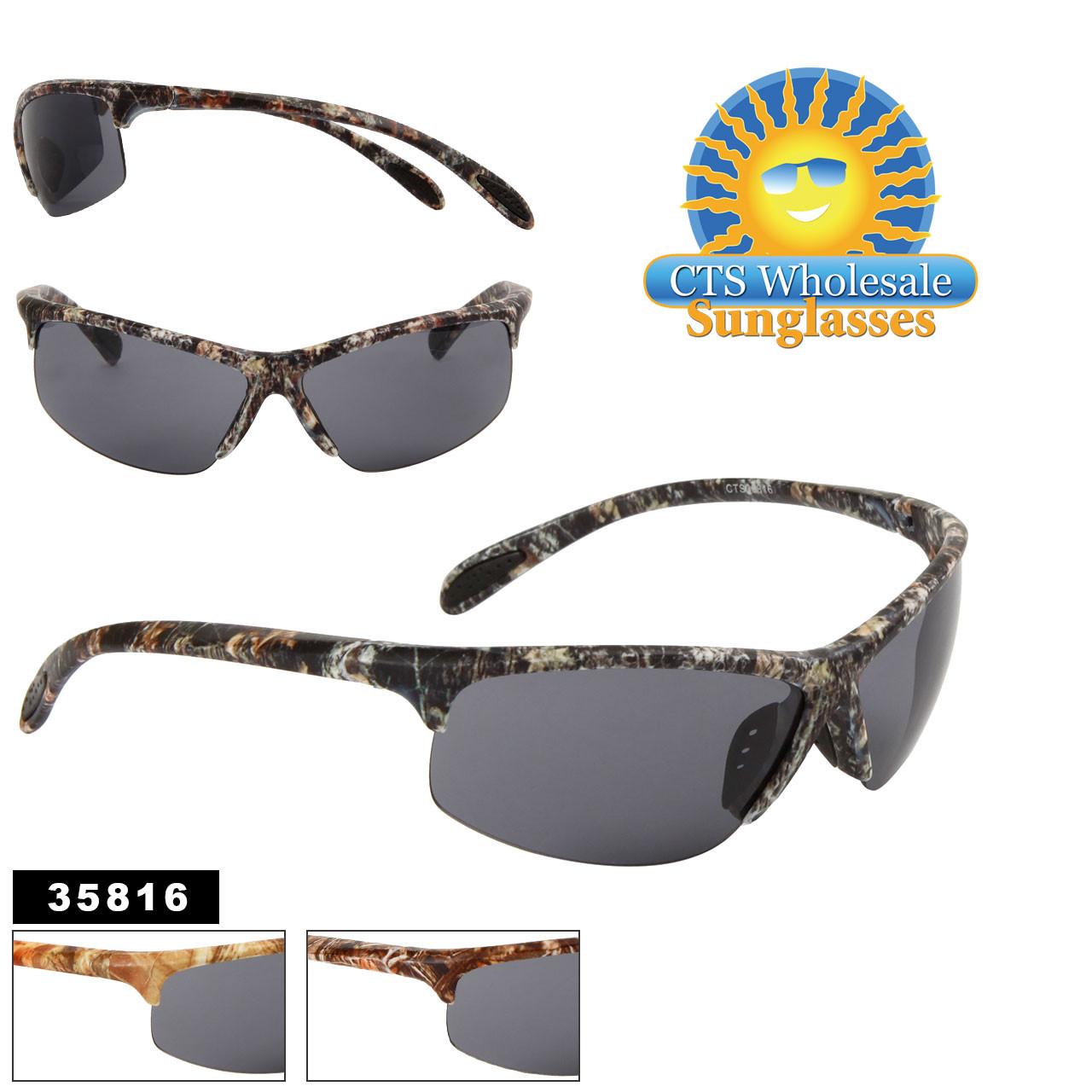 Men's Bulk Sport Sunglasses - Style #35816