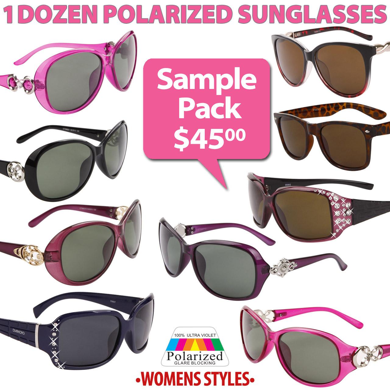 Polarized Sunglasses Sample Pack SPA-PW Women's Styles