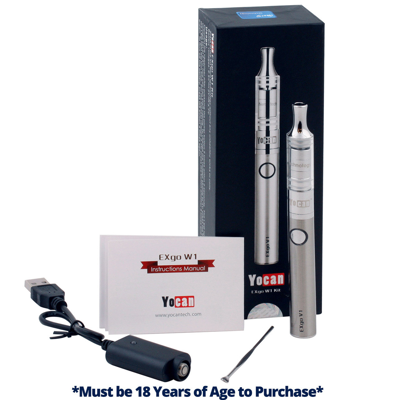 Yocan® EXgo Kit | Wax & Oil | 510 Thread