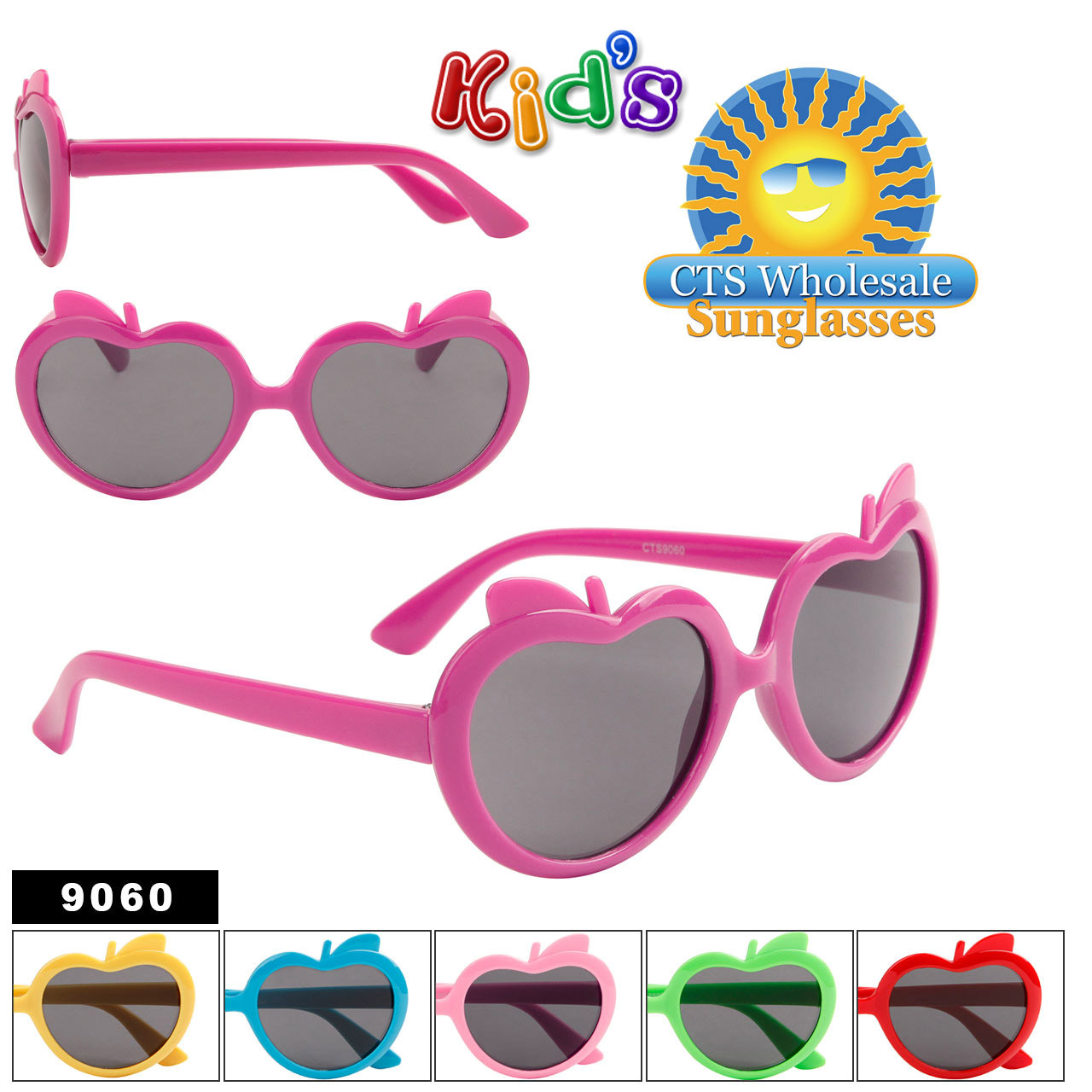Wholesale Kid's Sunglasses - Style #9060