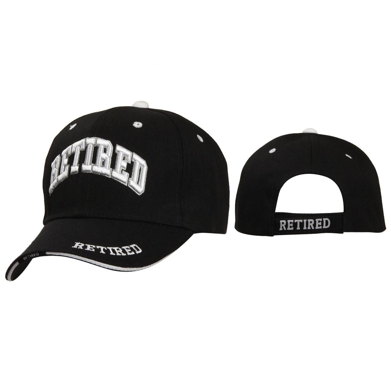 Wholesale Caps ~ Retired ~ Black
