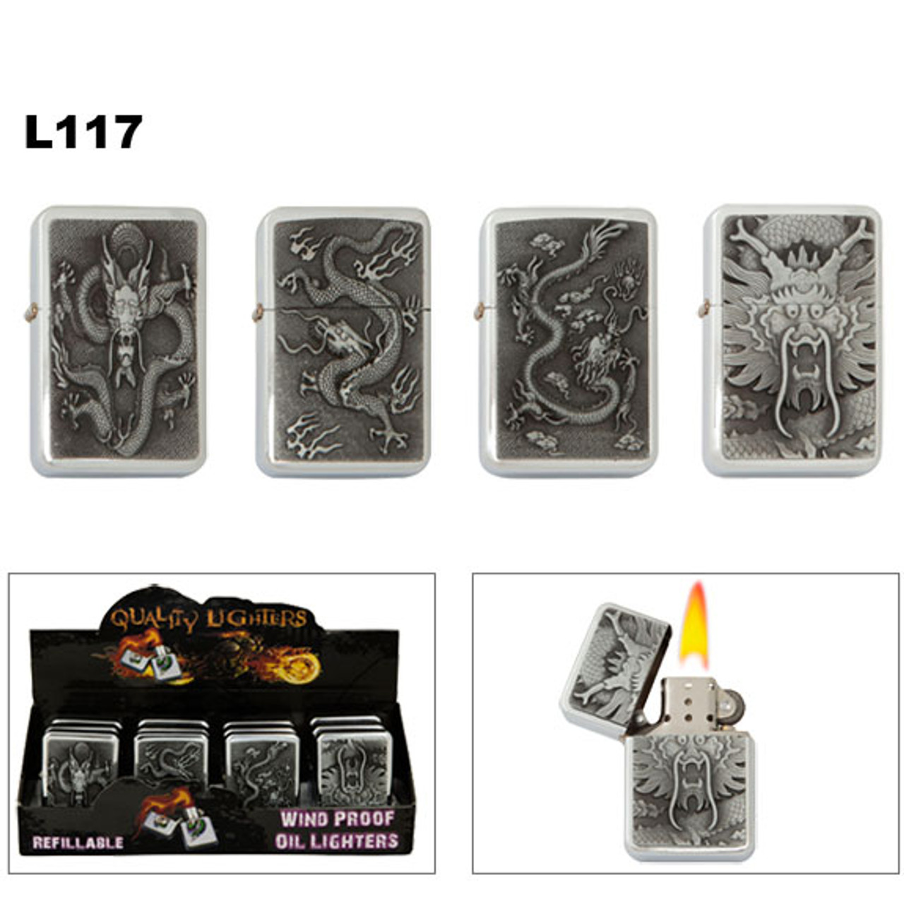 Wholesale Dragon Oil Lighters