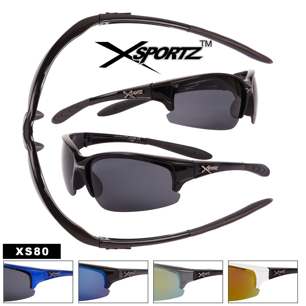 Xsportz Sports Sunglasses Wholesale - Style #XS80