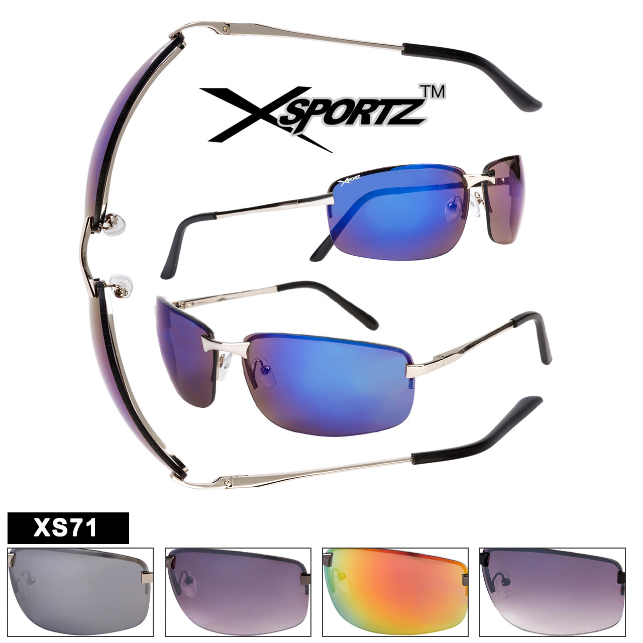 Wholesale Sport Sunglasses - Style XS71