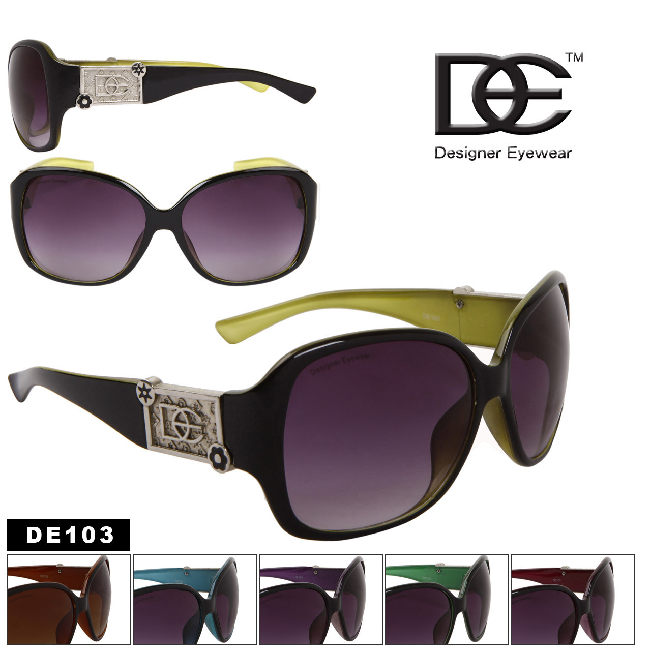 Wholesale Fashion Sunglasses | DE Designer Eyewear