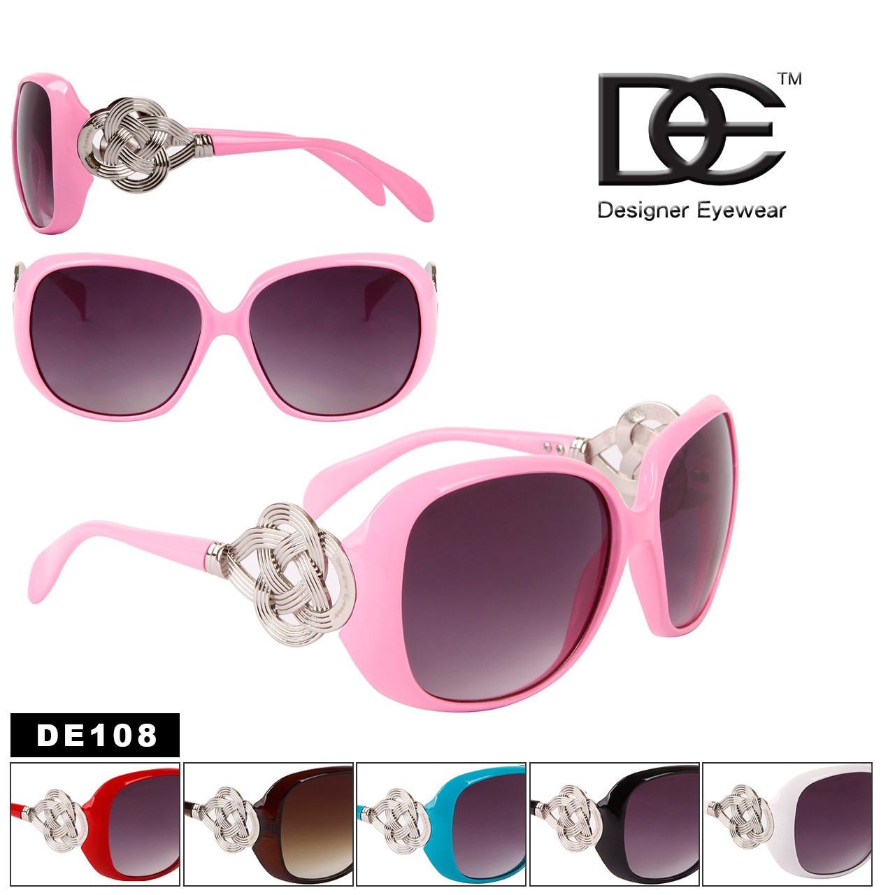 DE™ Designer Eyewear Fashion Sunglasses - Style #DE108