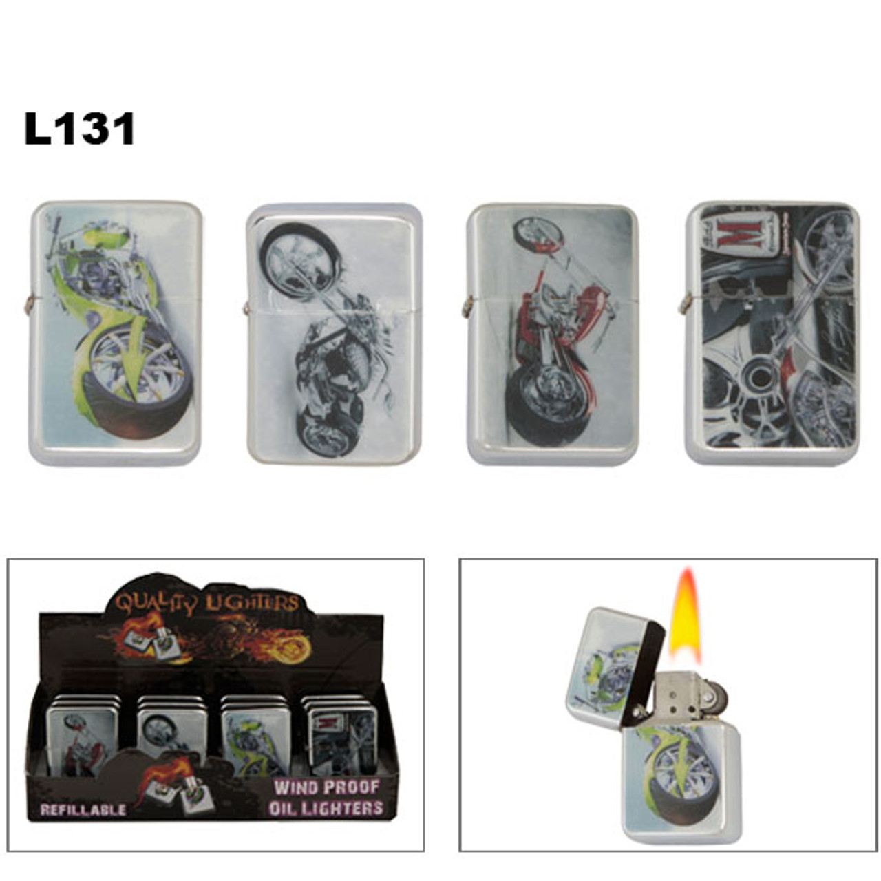 Lighters Wholesale   Motorcycles