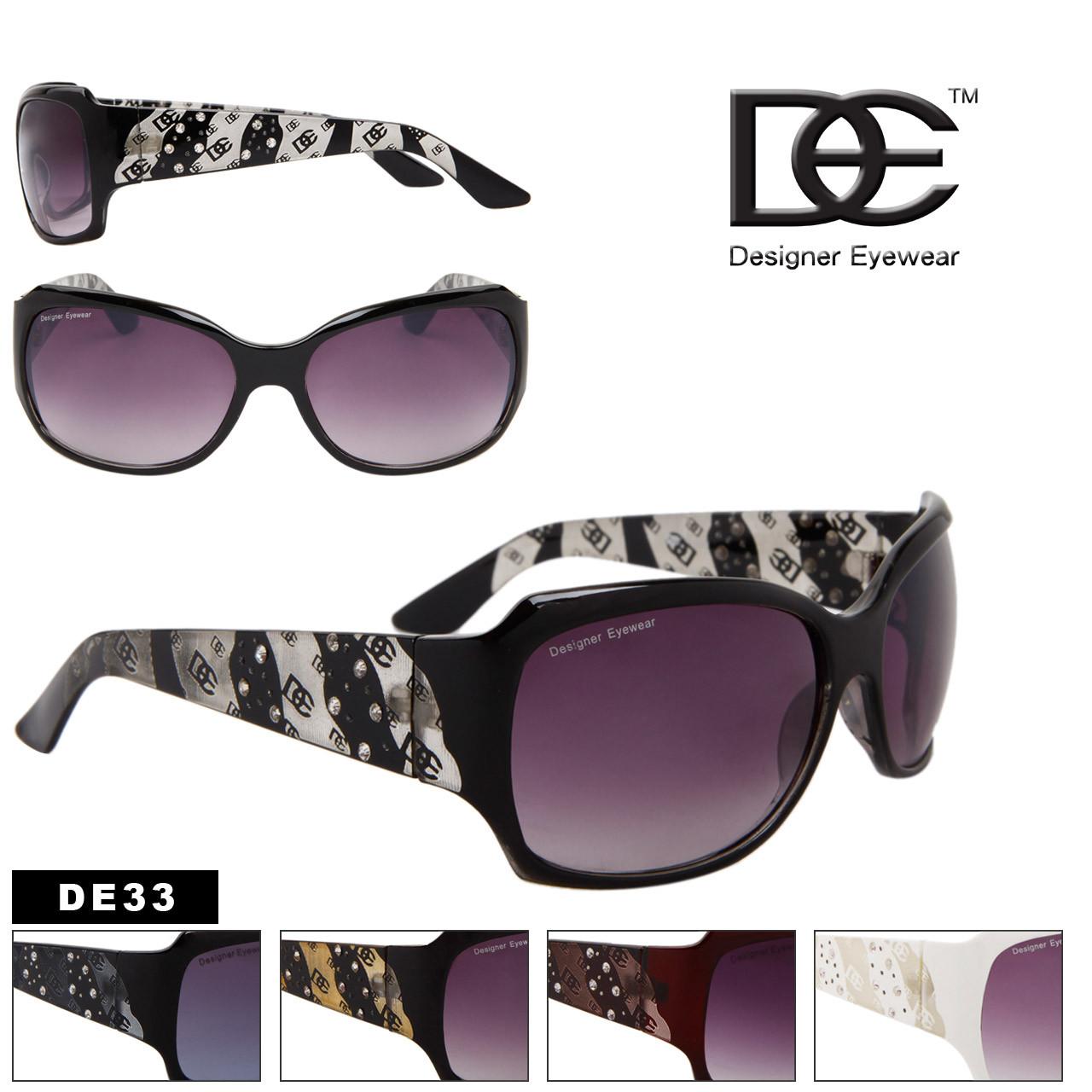 Rhinestone Fashion Sunglasses DE Designer Eyewear DE33