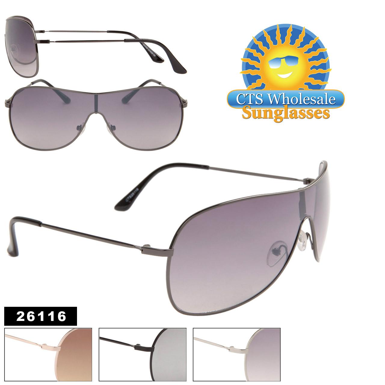 Unisex Wholesale Sunglasses Item # 26116