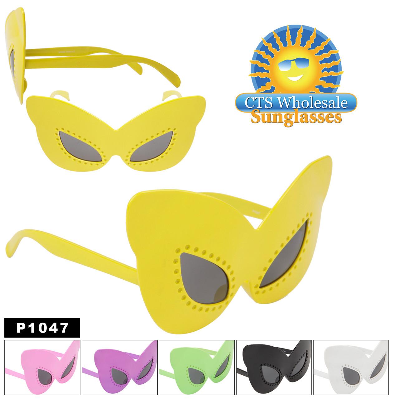 Cat-Eye Party Glasses