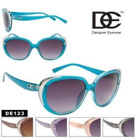 DE Designer Eyewear Fashion Sunglasses DE123 (Assorted Colors) (12 pcs.)
