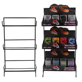 Lighter Display Rack ~ LIGHTERS NOT INCLUDED ~ 7079 (1 pc.)
